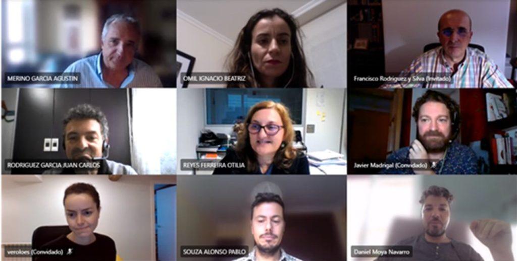 Imagen de la reunión de coordinación ApS que se celebró el miércoles 21 de octubre