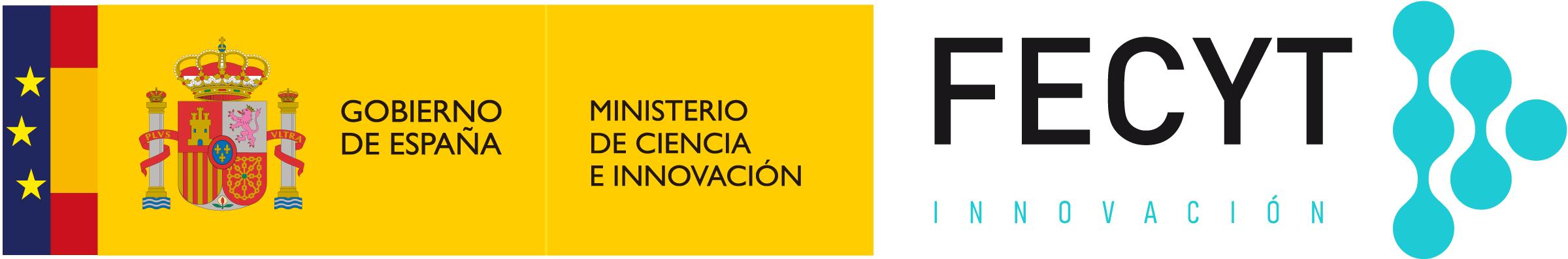 Logotipo de la Fundación Española para la Ciencia y la Tecnología (FECYT)